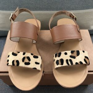 LIKE NEW - ASOS Real Leather Sandal size 7